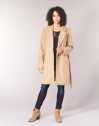 Oblečenie Ženy Kabáty Vila VILUS Ťavia hnedá