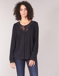 Oblečenie Ženy Blúzky Vila VIEVERLY Čierna