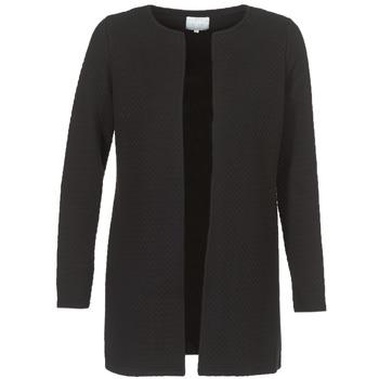 Oblečenie Ženy Saká a blejzre Vila VINAJA LONG Čierna