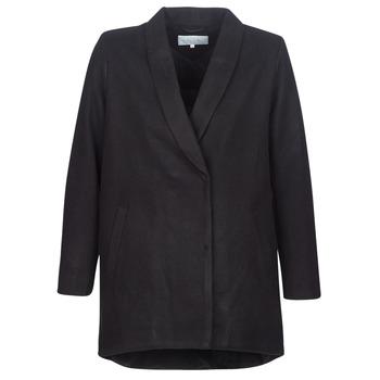 Oblečenie Ženy Kabáty Vila VICAMDON Čierna