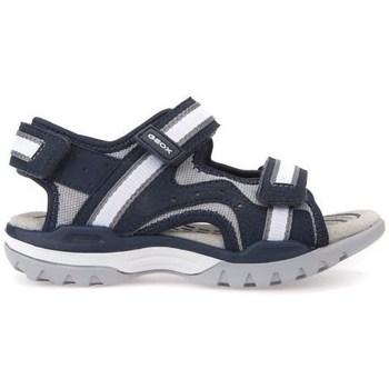 Topánky Deti Sandále Geox J Borealis Boy Navygrey Čierna
