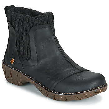 Topánky Ženy Polokozačky El Naturalista YGGDRASIL Čierna