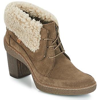 Topánky Ženy Čižmičky El Naturalista LICHEN Kaki