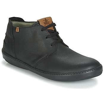 Topánky Muži Polokozačky El Naturalista METEO Čierna