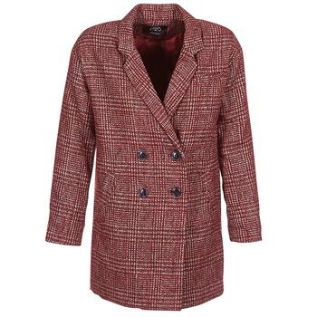 Oblečenie Ženy Kabáty Le Temps des Cerises LADY Bordová