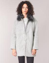 Oblečenie Ženy Kabáty Le Temps des Cerises DUCHESSE Šedá