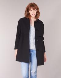 Oblečenie Ženy Kabáty Sisley FAREDA Čierna