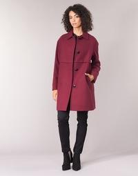 Oblečenie Ženy Kabáty Sisley FAREDA Bordová