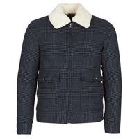 Oblečenie Muži Kabáty Sisley FADVIN Šedá