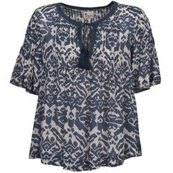 Oblečenie Ženy Blúzky Stella Forest ANNAICK Krémová / Modrá