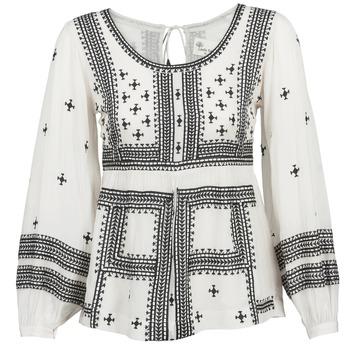 Oblečenie Ženy Blúzky Stella Forest ANTONETA Krémová / Čierna