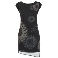 Oblečenie Ženy Krátke šaty Desigual SANDRINI Čierna
