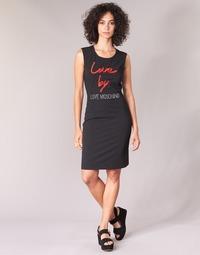 Oblečenie Ženy Krátke šaty Love Moschino CARININA Čierna
