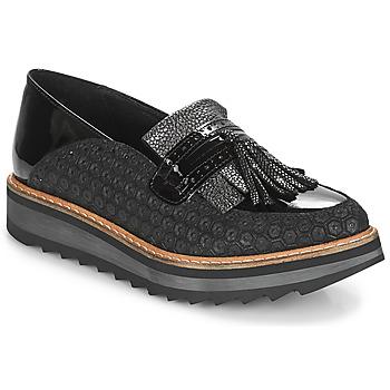 Topánky Ženy Mokasíny Regard RINOVI V2 COMET NERO Čierna