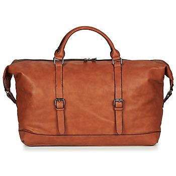 Tašky Muži Cestovné tašky Casual Attitude DAVITO Ťavia hnedá