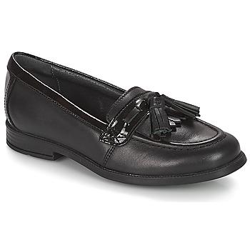 Topánky Dievčatá Mokasíny Start Rite LOAFER PRI Čierna