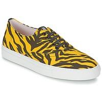 Topánky Ženy Nízke tenisky Moschino Cheap & CHIC LIBORIA žltá / čierna