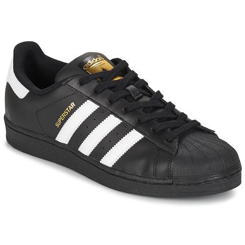Topánky Muži Nízke tenisky adidas Originals SUPERSTAR FOUNDATION Biela    Čierna bfed59a750a