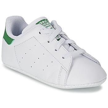 Topánky Deti Nízke tenisky adidas Originals STAN SMITH GIFTSET Biela / Zelená