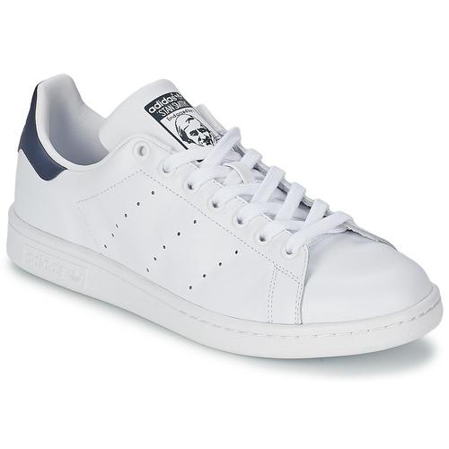 adidas Originals STAN SMITH Biela   Modrá - Bezplatné doručenie so ... 242791135f6
