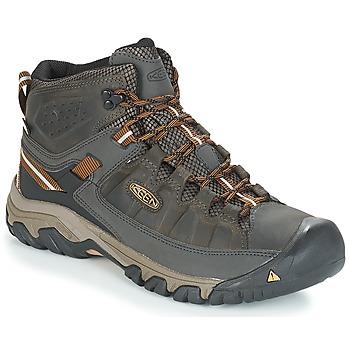 Topánky Muži Turistická obuv Keen TARGHEE III MID WP Kaki