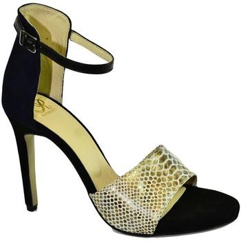5cae117b2 Topánky Ženy Sandále John-C Dámske tmavo-modré sandále ALBA tmavomodrá