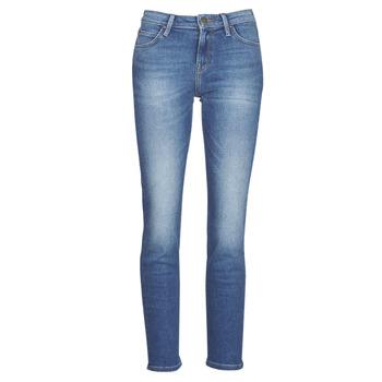 Oblečenie Ženy Rovné džínsy Lee ELLY Modrá / Medium