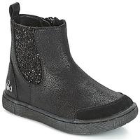 Topánky Dievčatá Polokozačky Mod'8 BLABLA Čierna