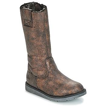 Topánky Dievčatá Čižmy do mesta Mod'8 ALTANA Čierna / Bronzová