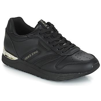 Topánky Ženy Nízke tenisky Versace Jeans Couture TAPADO Čierna