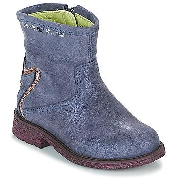 Topánky Dievčatá Polokozačky Agatha Ruiz de la Prada 181970 VAGABUNDA Modrá