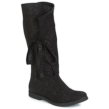 Topánky Ženy Čižmy do mesta Papucei LUCIA Čierna