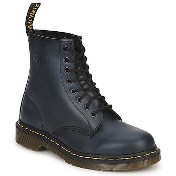 Topánky Polokozačky Dr Martens 1460 Námornícka modrá
