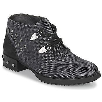 Topánky Ženy Polokozačky Mam'Zelle XESTO Čierna