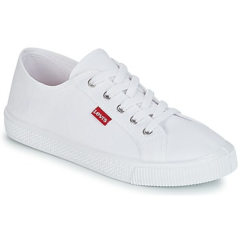 Topánky Ženy Nízke tenisky Levi's MALIBU BEACH S Biela