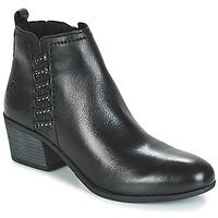 Topánky Ženy Čižmičky Marco Tozzi HISSU Čierna