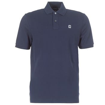 Oblečenie Muži Polokošele s krátkym rukávom G-Star Raw DUNDA POLO Námornícka modrá
