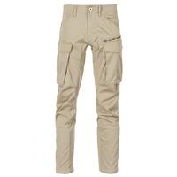 Oblečenie Muži Nohavice Cargo G-Star Raw ROVIC ZIP 3D STRAIGHT TAPERED Béžová