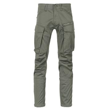 Oblečenie Muži Nohavice Cargo G-Star Raw ROVIC ZIP 3D STRAIGHT TAPERED Šedá / Zelená