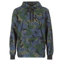 Oblečenie Muži Bundy  G-Star Raw STOR ANORAK OVERSHIRT Modrá / Zelená