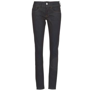 Oblečenie Ženy Džínsy Skinny G-Star Raw LYNN MID SKINNY Modrá / Aged