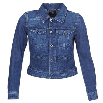 Oblečenie Ženy Džínsové bundy G-Star Raw D-STAQ DC DNM Modrá / Sato / Denim