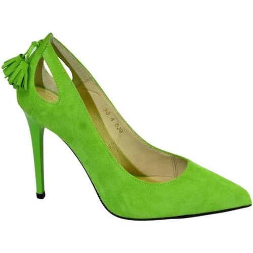 dde7ed216 Topánky Ženy Lodičky John-C Dámske svetlo zelené lodičky BONNIE svetlozelená