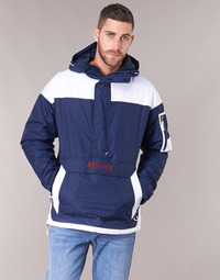 Oblečenie Muži Bundy  Columbia CHALLENGER PULLOVER Námornícka modrá / Biela