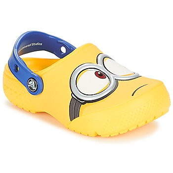 Topánky Deti Nazuvky Crocs CROCS FUNLAB MINIONS CLOG Žltá