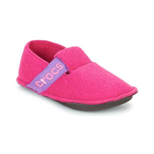 Topánky Dievčatá Papuče Crocs CLASSIC SLIPPER K Ružová