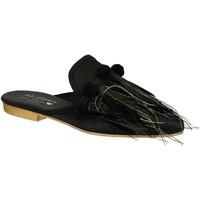 Topánky Ženy Nazuvky Gia Couture VENUS SATIN B nero