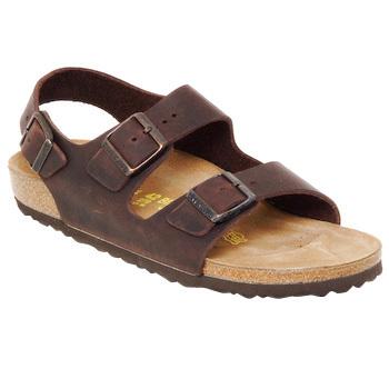 Topánky Muži Sandále Birkenstock MILANO Hnedá