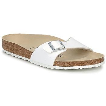 Topánky Muži Šľapky Birkenstock MADRID Biela