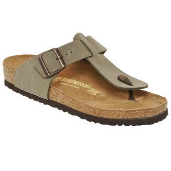 Topánky Muži Žabky Birkenstock MEDINA Béžová
